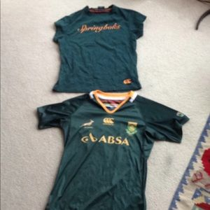 New South African Springboks Rugby shirts